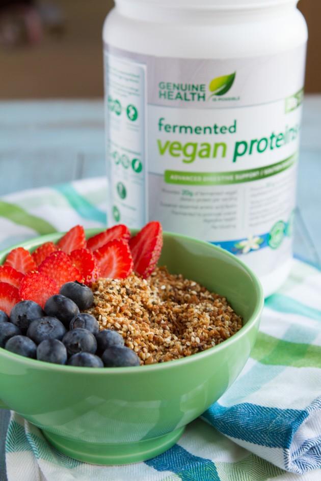Keto Breakfast Recipes - No Nuts! Keto Granola Dust