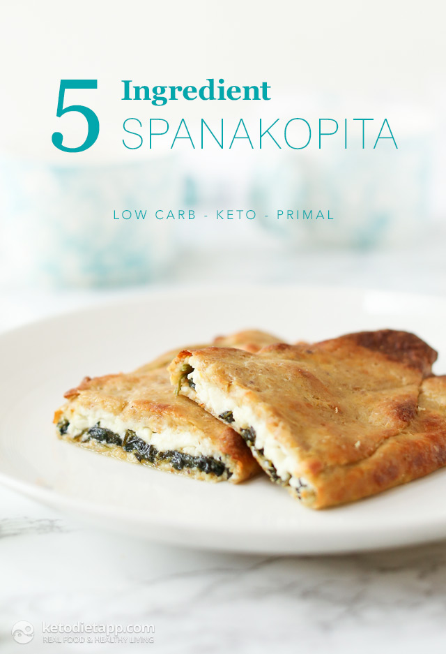 5-Ingredient Keto Spanakopita
