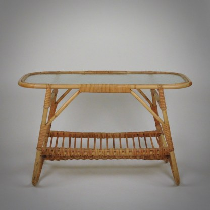 Bohemien rattan coffeetable