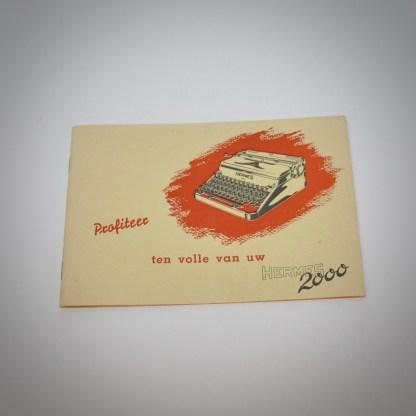 Typemachine Hermes 2000