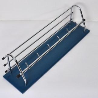 Vintage Wandkapstok Blauw