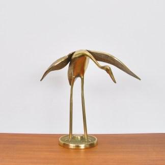 Vintage Messing Vogel