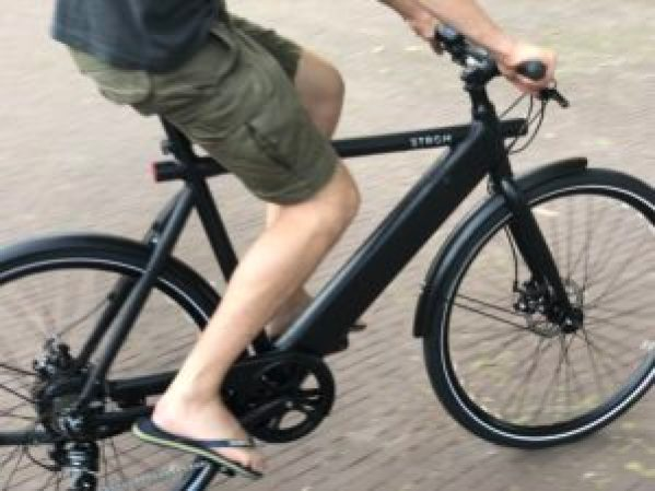 strom city review hands on ebike ergonomie