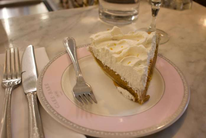 Pumpkin pie in Indianapolis: the most American dessert in the most American city. ©KettiWilhelm2019