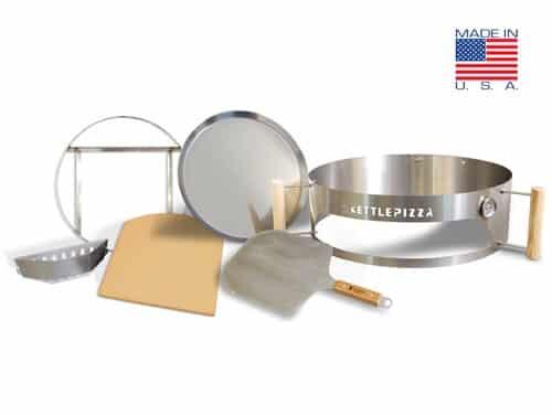 KettlePizza Pro 22 Charcoal Pizza Oven Kit - KPPK-22