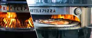 Charcoal KettlePizza Pizza Oven