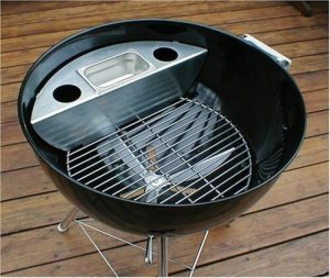 """Smokenator 1000 - Turn Your 22"""" Weber Kettle Into A Meat Smoker"""