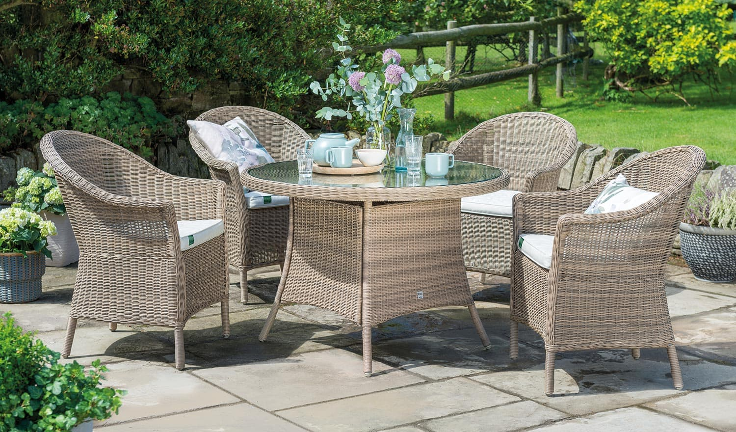 rhs harlow carr 4 seater dining set