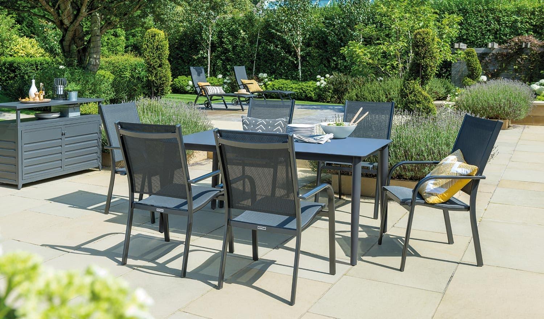 luxury metal garden furniture
