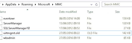 The Renamed virtmgmt file