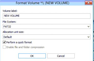 Format partition