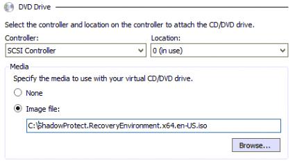 add recovery dvd