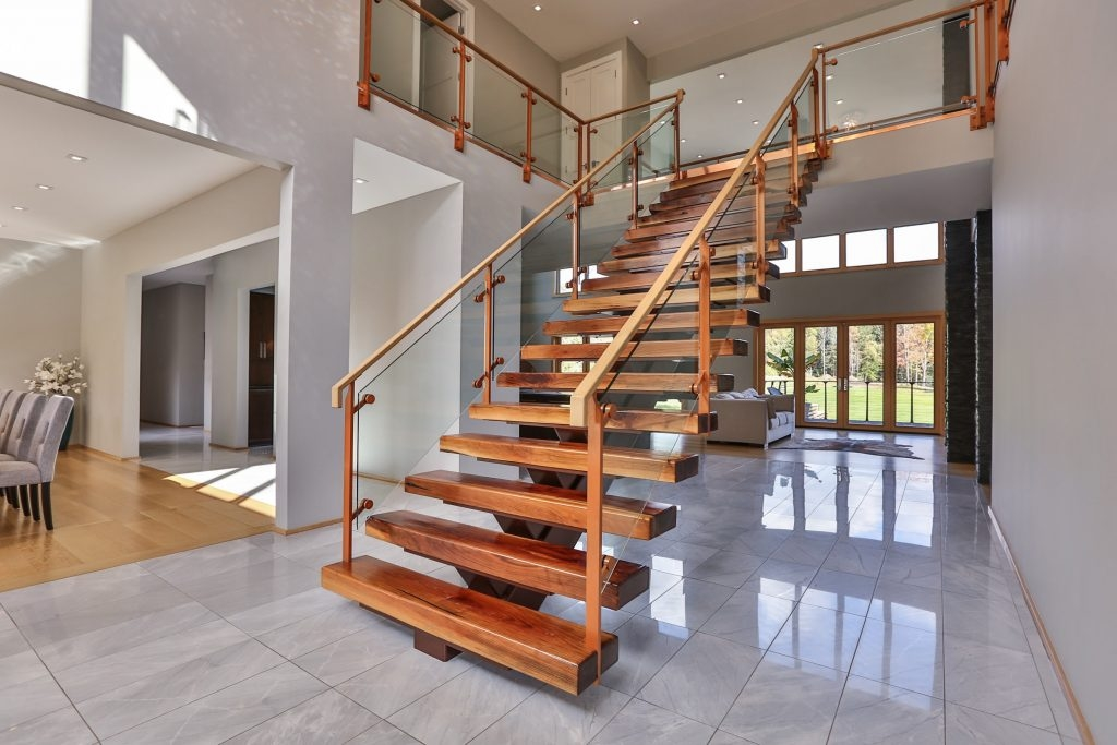 Rochester Railing And Stair Projects Keuka Studios | Wood Railings For Steps | Deck | Stairwell | Nautical Rope | Outdoor | Easy