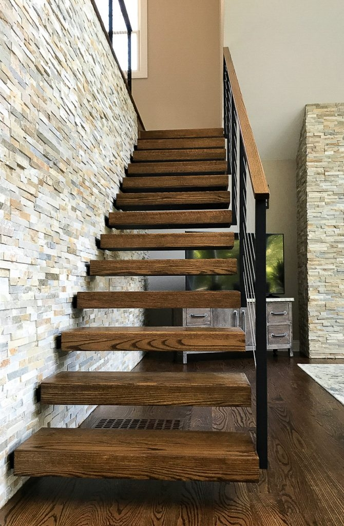 6 Types Of Stair Treads What To Know Before Choosing Various | Rustic Wood Stair Treads | Indoor Stair | Wood Plank | Interior | Reclaimed Wood | Carpet