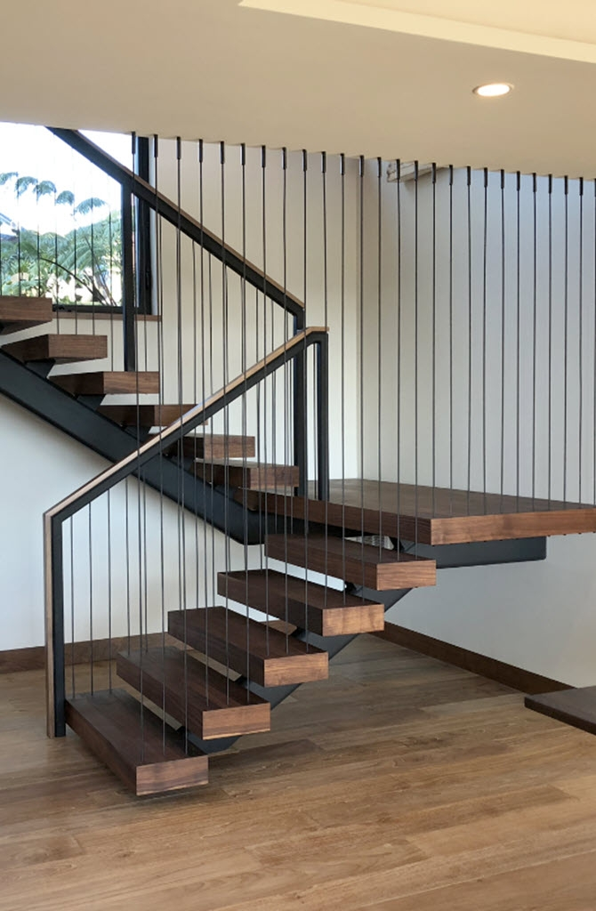 6 Types Of Stair Treads What To Know Before Choosing Various   Best Wood For Indoor Stairs   Hardwood   Stair Parts   Stair Case   Glass   Red Oak