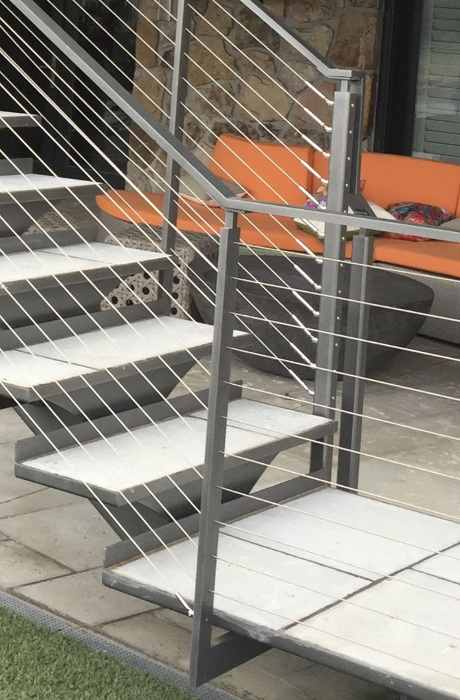 6 Types Of Stair Treads What To Know Before Choosing Various | Outdoor Metal Stair Steps | Stair Railing | Stair Riser | Deck Stairs | Stair Stringer | Wrought Iron Railings