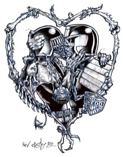 2000AD_ink_Dredd kisses death