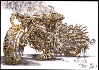 ComChars_Berni Wrightson Tribute_Ghost Rider