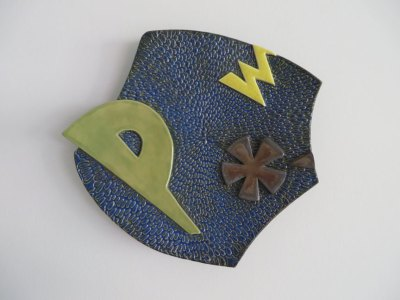 Pow! Plate No. 1 by Kevin Eaton
