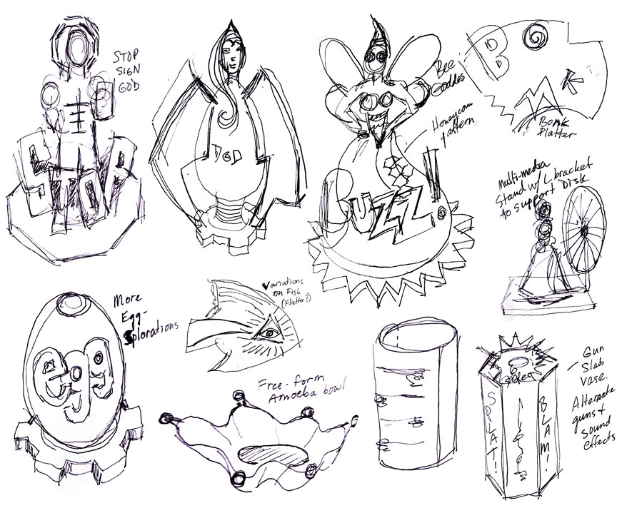 Spring 2018 Sketches by Kevin Eaton