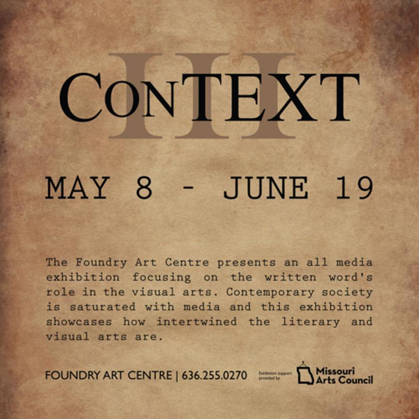 ConTEXT III promo art