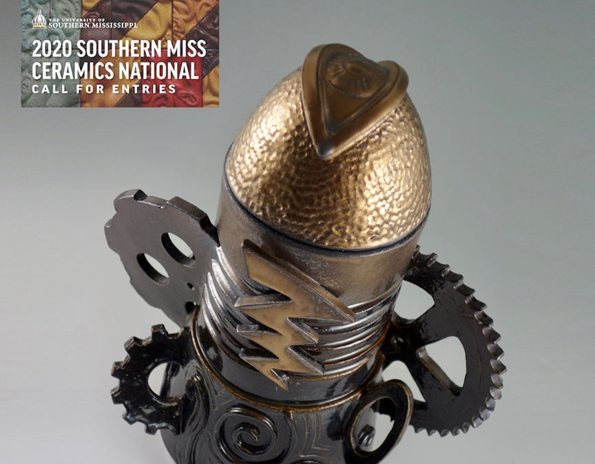 Gold Unit No. 2 Chosen for 2020 Southern Miss Ceramics National