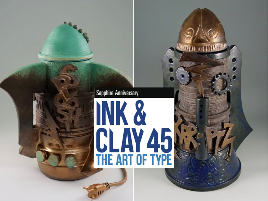 Cookie Jar No. 5 and KRR-PTZ! Jar Chosen for Ink & Clay 45