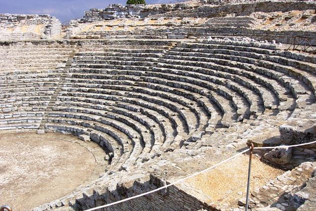 Teatro grego na Sicilia