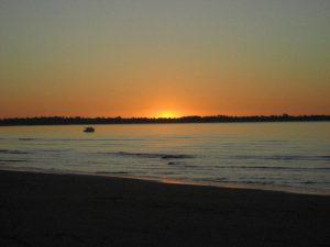 Pôr do sol na Australia