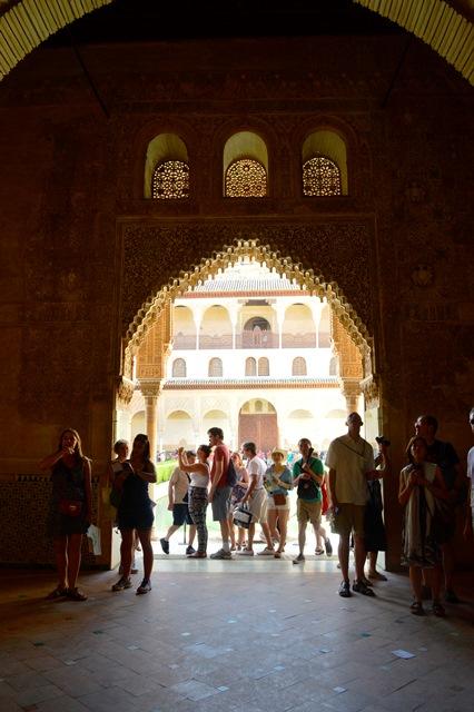 Palacio de Comares em Alhambra