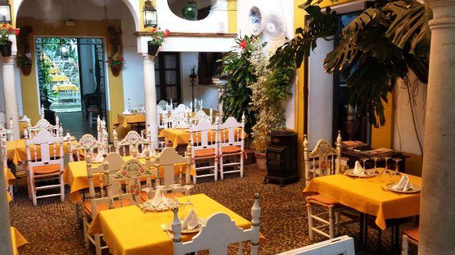 Restaurante no Bairro de Santa Cruz-Sevilha