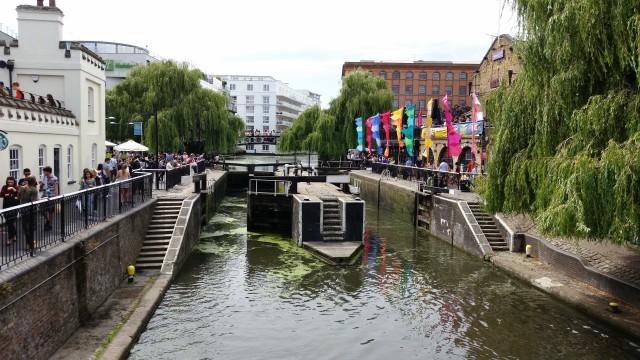 Regent's Canal em Londres