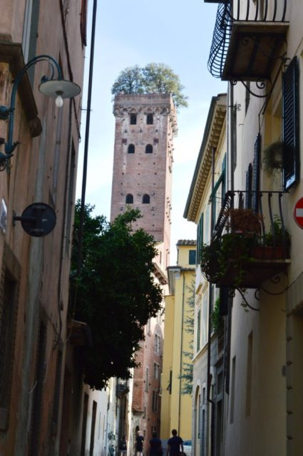 passear pela Toscana