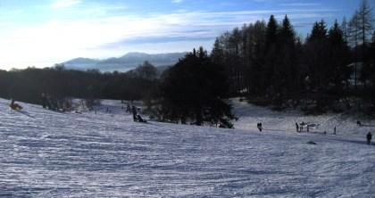 Esquiar perto de Milão