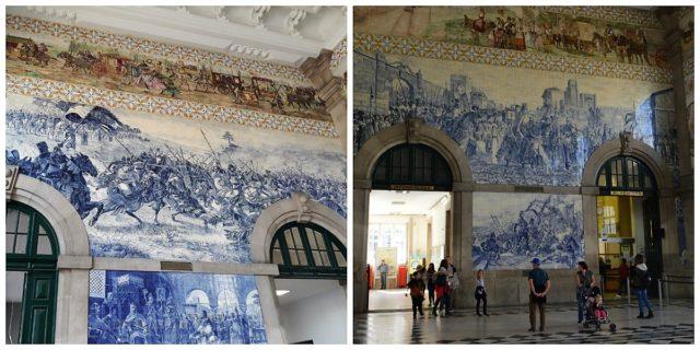Estação São Bento no Porto