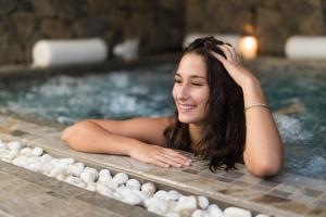 Relaxation dans le SPA de l'hotel