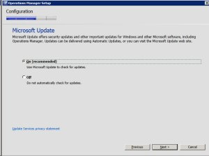System Center Operations Manager 2012 - Update