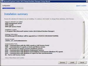 System Center VMM2012 - Summary