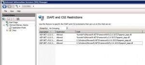 System Center Operations Manager 2012 - IIS Configuration