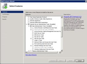 Office 365 - Install RSAT Feature