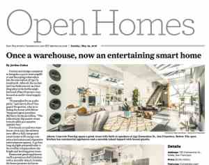 SF Chronicle Coverage for 735 Clementina