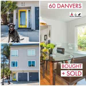 Sold at 60 Danvers
