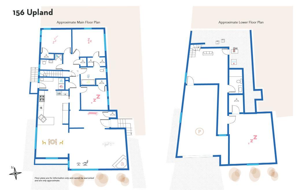 156 Upland's Floor Plan