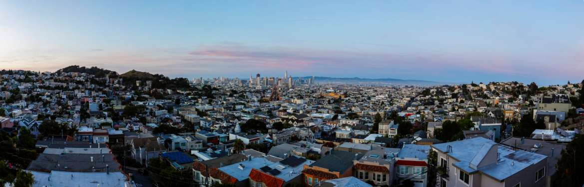 San Francisco at Twlight
