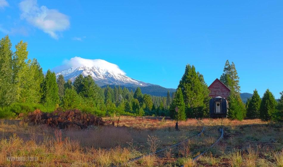 Mt. Shasta from McCloud, CA