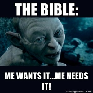 Obscure Bible Character Lord of the Rings Character