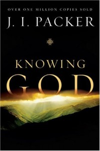 Knowing God JI Packer Book Cover New
