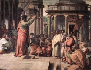 The Apostle Paul Preaching a Sermon | The Book of Acts