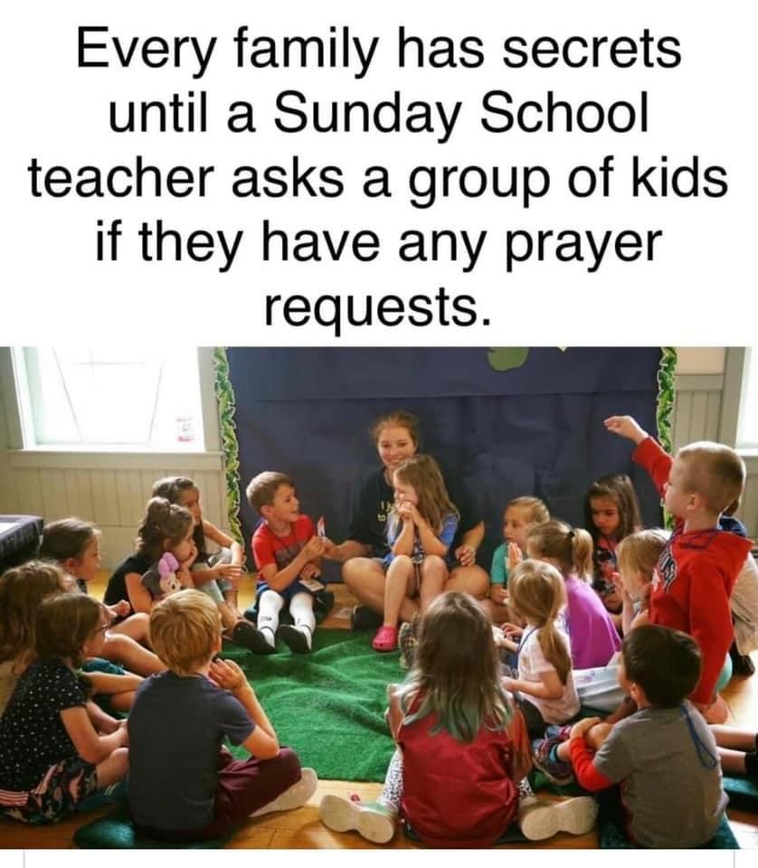 Funny Prayer Memes - Children's Ministry and Gossip