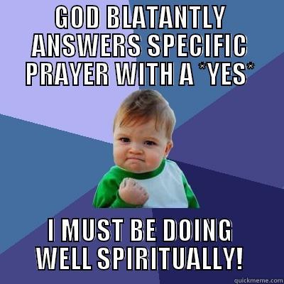 Funny Prayer Meme - Baby Doing Well Spiritually